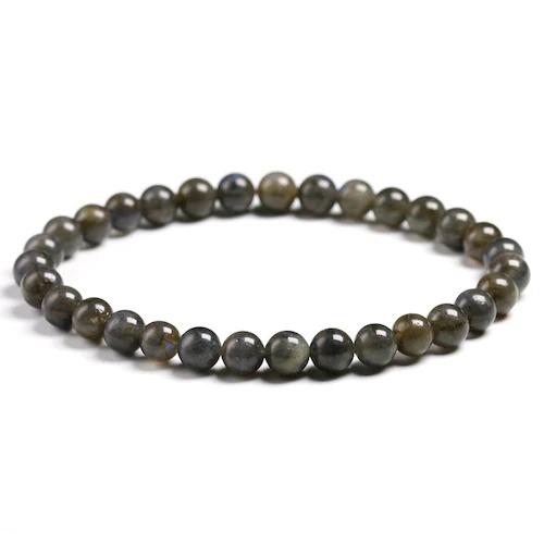 Bracelet en pierre de labradorite perles de 6mm