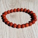 Bracelet Jaspe Rouge - Taille au choix