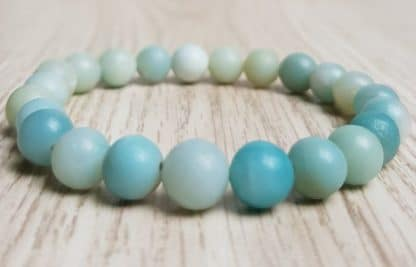 bracelet pierre amazonite