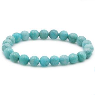 Bracelet perles Amazonite