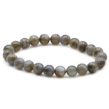 bracelet en perles de labradorite 8mm