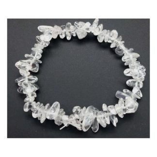 bracelet baroque en cristal de roche