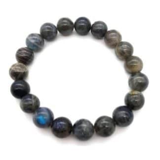 bracelet labradorite 10mm