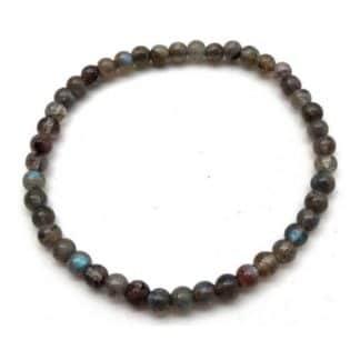 bracelet labradorite 4mm