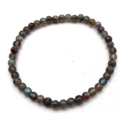 bracelet labradorite 6mm