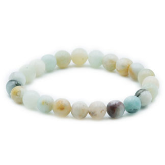 bracelet amazonite 8mm multi