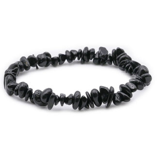 bracelet baroque tourmaline noir