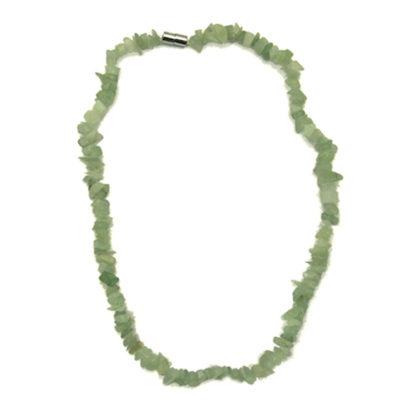 collier baroque jade