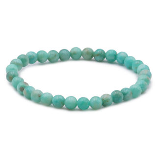 Bracelet perles Amazonite A 6mm